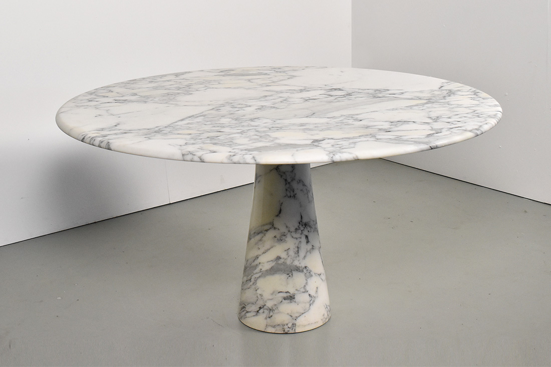 Italian Round Marble Dining Table 1970s Sold Objekt